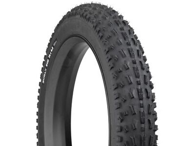 SURLY Bud 4.8 TLR Super Wide, Tubeless ready, Folding Bead, 120Tpi Casing, Trail Tread, Ideal for Front 26x4.8""