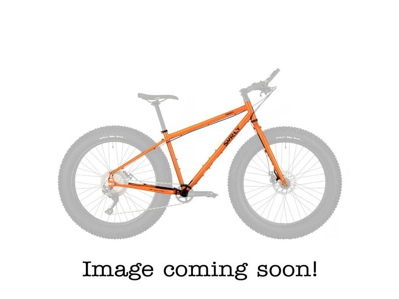 SURLY Pugsley Frameset Candied Yam Orange click to zoom image