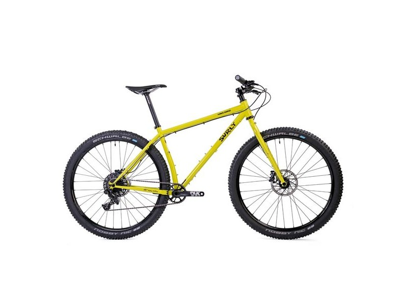 SURLY Karate Monkey 27.5+ Bike Lemon Lime Soda click to zoom image