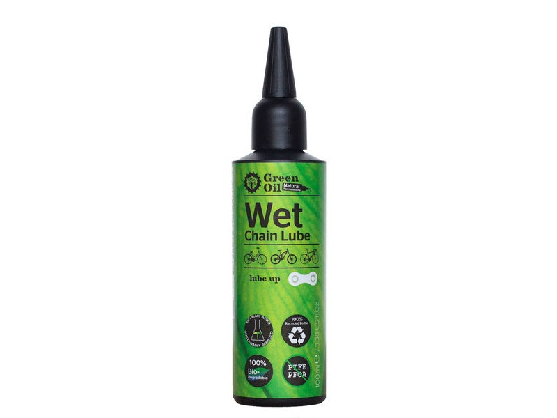 GREEN OIL Wet Chain Lube click to zoom image