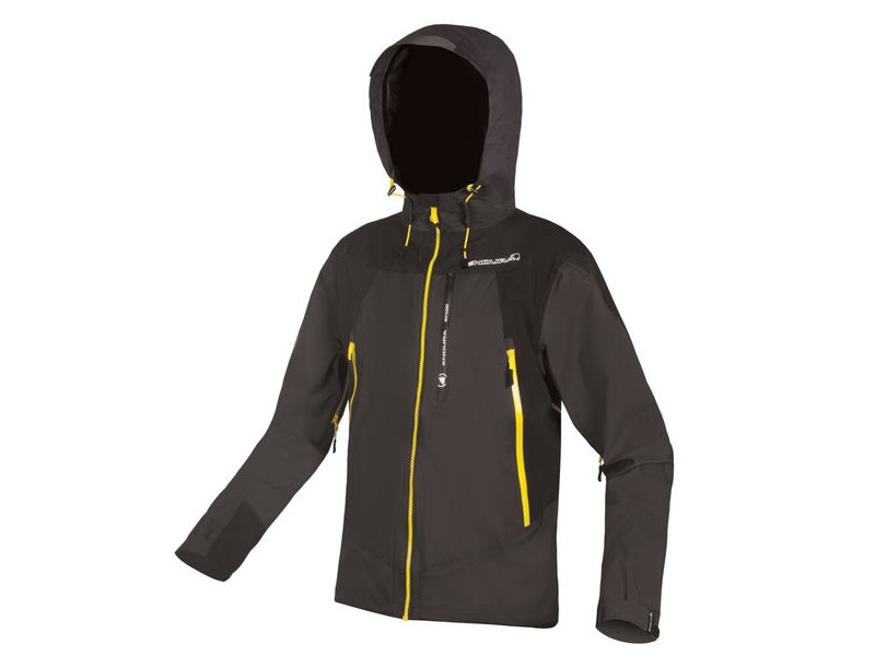 ENDURA MT500 Waterproof Jacket II Black click to zoom image