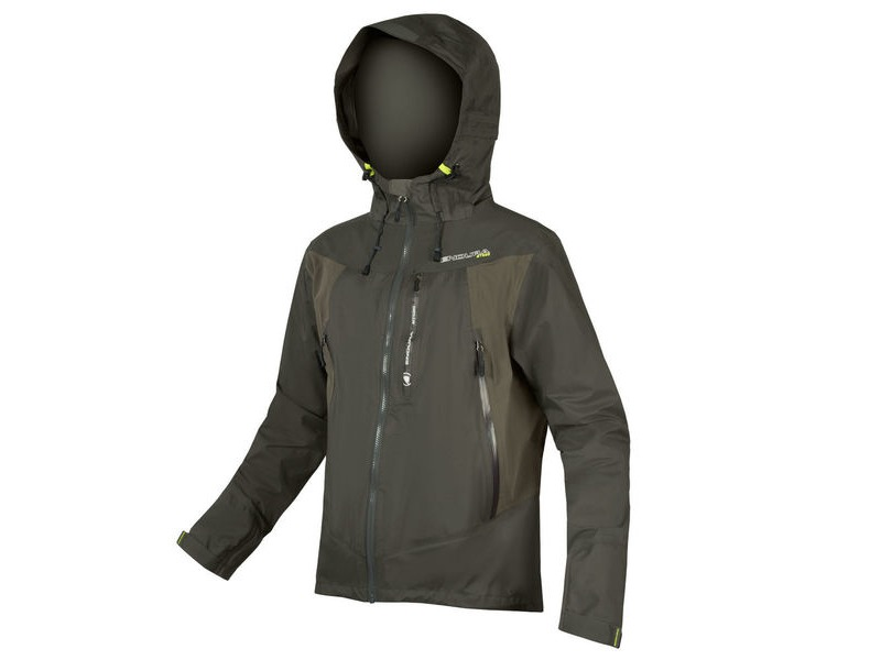 ENDURA MT500 Waterproof Jacket II Khaki click to zoom image