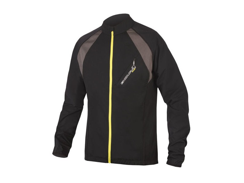 ENDURA MT500 Full Zip L/S Jersey II Black click to zoom image