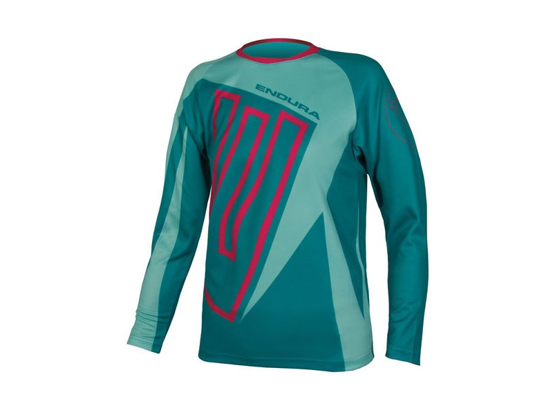 ENDURA Kids MT500JR L/S T Teal click to zoom image