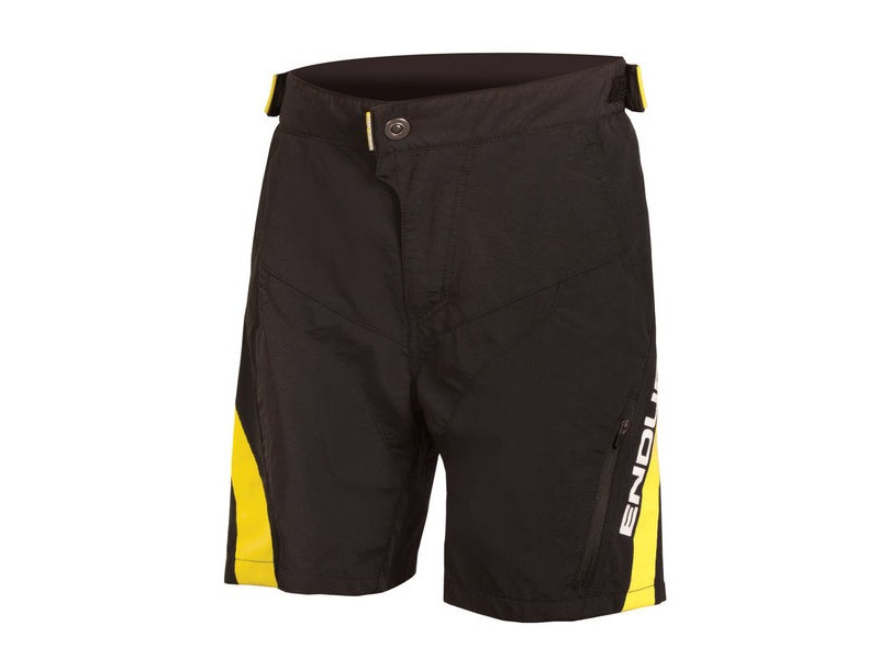 ENDURA Kids MT500JR Short Black click to zoom image