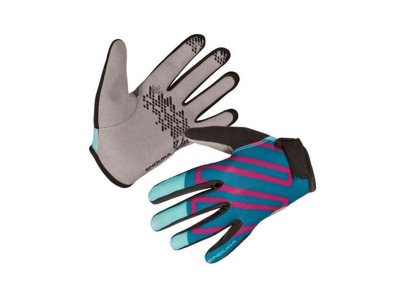 ENDURA Kids Hummvee Glove II Teal click to zoom image