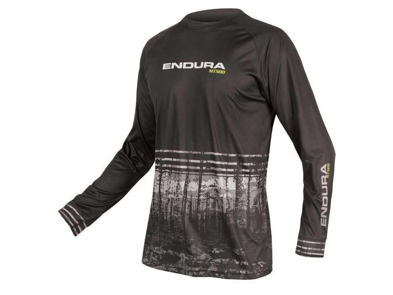 ENDURA MT500 L/S Print T II Black click to zoom image