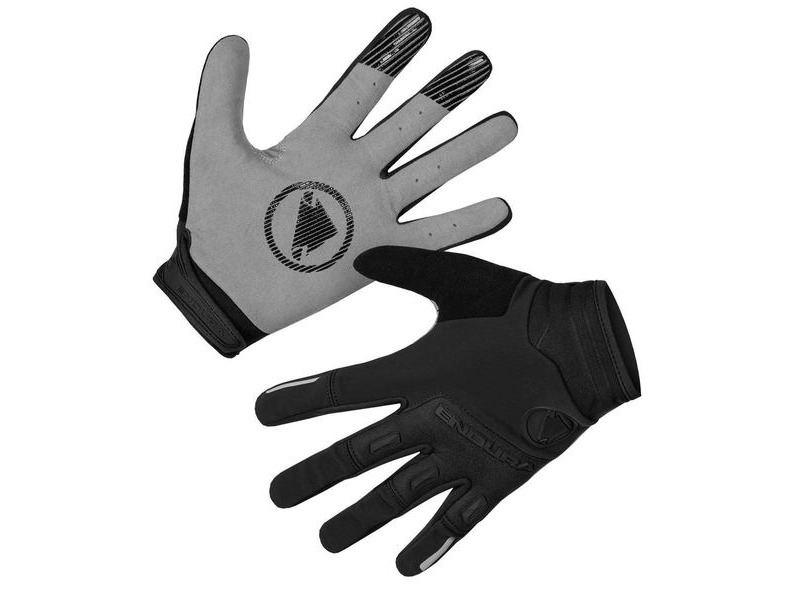ENDURA SingleTrack Windproof Glove Black click to zoom image