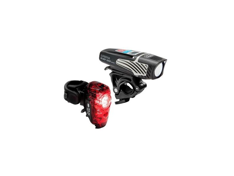 NITE RIDER Lumina 1200 Oled Boost/Solas 250 Combo Light Set click to zoom image