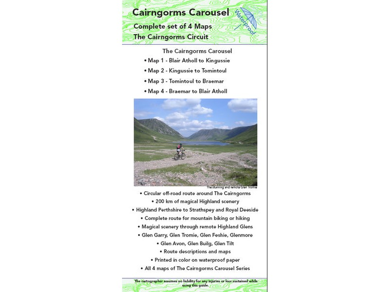TRAILMAPS Cairngorms Carousel click to zoom image
