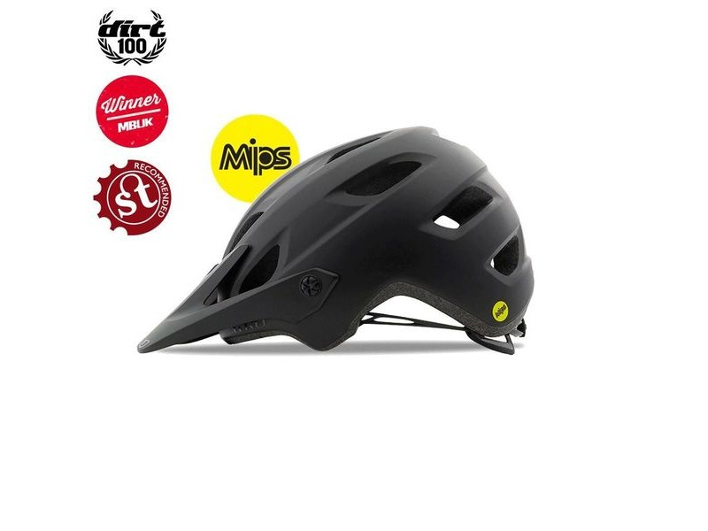 GIRO Chronicle Mips Dirt/MTB Helmet Matt Black/Gloss Black click to zoom image