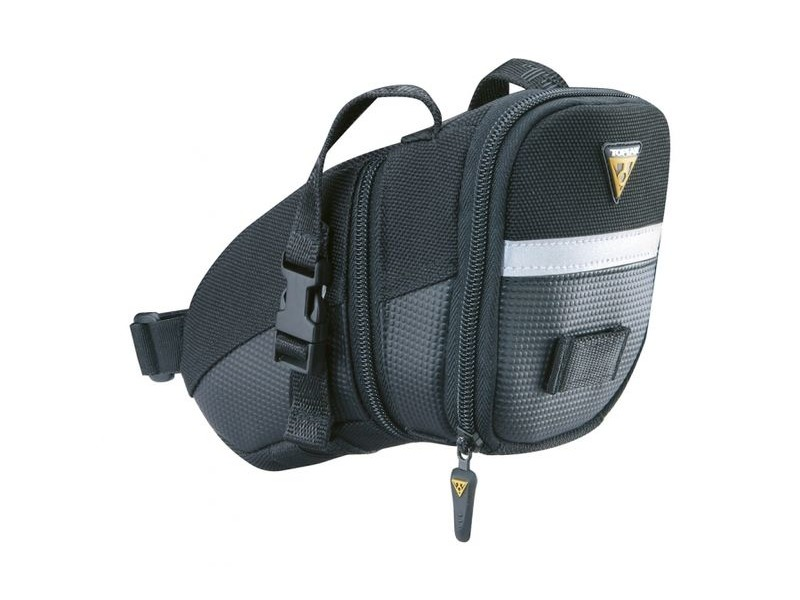 TOPEAK Aero Wedge Medium w/Straps click to zoom image