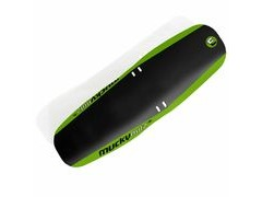 Mucky Nutz Face Fender XL Front Black/Green  click to zoom image