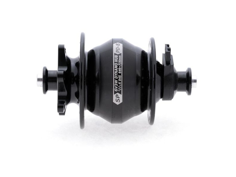 SP Dynamo PD8 - PL8 100mm disc brake dyno hub click to zoom image