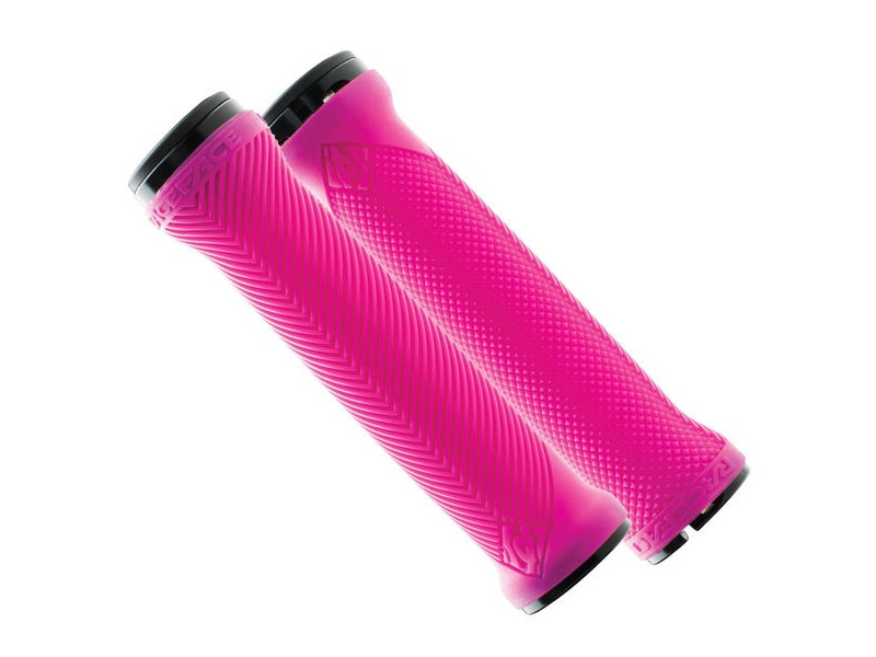 RACE FACE Love Handle Grips Neon Pink click to zoom image