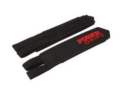 Powergrips Fat Straps Wide Black/Red  click to zoom image