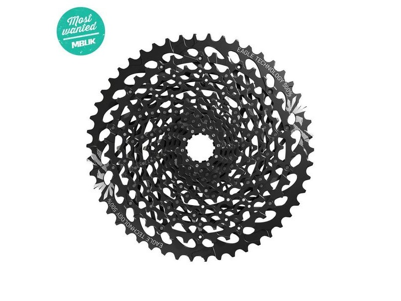 Sram Cassette Gx Eagle XG-1275 10-50 12 Speed Black 12spd 10-50t click to zoom image